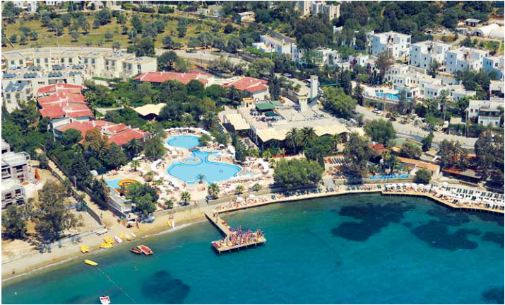 Poze hotel kefaluka resort - bodrum, turcia